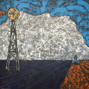 "Vintage Cultivation 4   Acrylic on canvas  30""x30"""