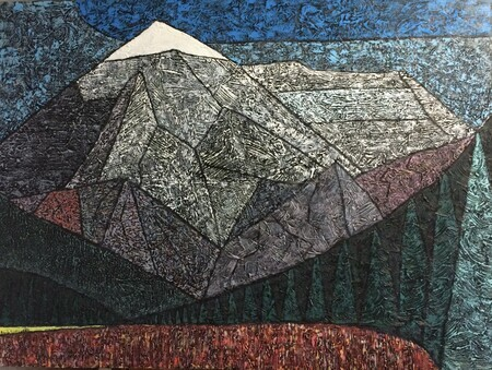 "Mount Robson in Summer 36""x48"""