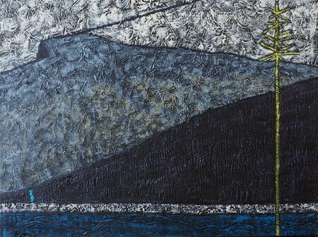 "Nihahi Ridge, Kananaskis 30""x40"" Acrylic on canvas SOLD"